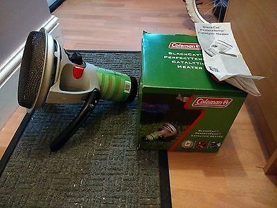Coleman Blackcat Catalytic Propane Bivvy/Camping/Fishing Heater. Great Condition