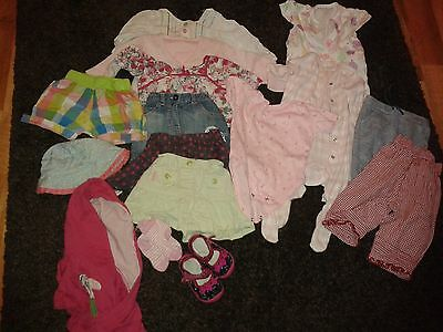 bundle baby girl clothes 3 to 12 months