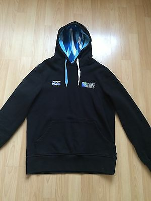 Men's Canterbury RWC 2015 Rugby Hoodie Size Small Adult