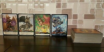 Set Lot of 107 World of Warcraft Trading Card Game WoWTCG  Tomb of the Forgotten
