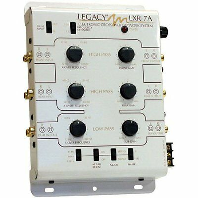 Legacy LXR7A 3Way Stereo Electronic Crossover Network