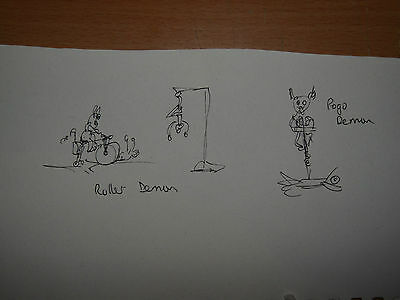Visions of hell demon concept sketches northern dark art 1