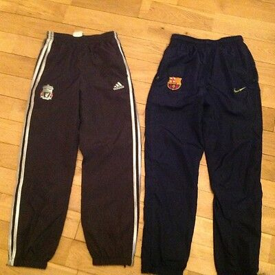 BOYS ADIDAS FOOTBALL TRACKSUIT BOTTOMS - LIVERPOOL - Age 11/12
