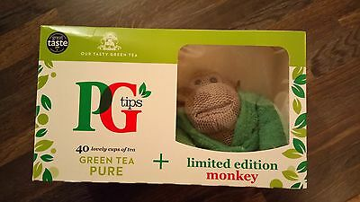 Pg Tips Green Tea And Limited Edition Monkey Bnib