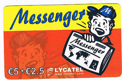 Messenger €5+€2.5 LYCATELL