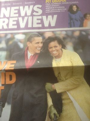 President Obama The Inauguration : Sunday Times News Review Special 25 Jan 2009