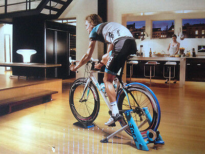 TURBO TRAINER Tacx T2600 Blue Motion High Power Folding Turbo cycle trainer