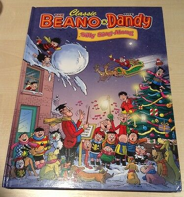 New Book. 2013 Classic Beano & Dandy Silly Sing-Along + Original Free Gift