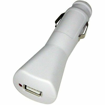Lenmar Charger with USB Charge Port for iPod (White)