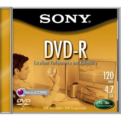 Sony 4.7GB 16x DVD-R (Single) (Discontinued by Manufacturer)