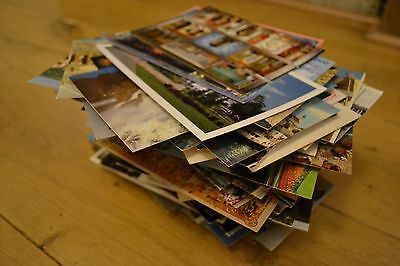 Job Lot 330+ Vintage Postcards. All unposted. Worldwide topographical / tourism