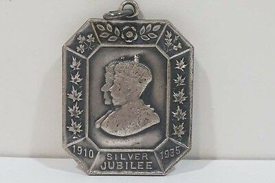 C491 Canada 1910-35 King George V/ Queen Mary Sterling Silver Jubilee Pendant