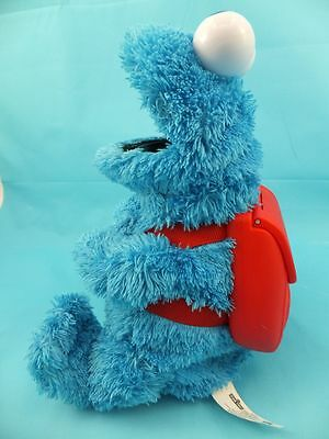 Hasbro Sesame Street Cookie Monster Talking Toy With Backpack