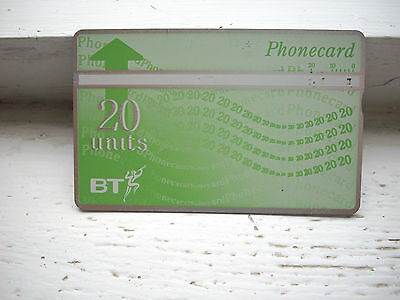 collectable BT phone cards 20 units