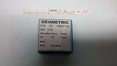 Geometric #4-36 Thread Chasers For 5/16 D, Ds, Dsa Diehead