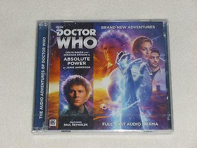 Doctor Who Absolute Power Big Finish audio cds BRAND NEW