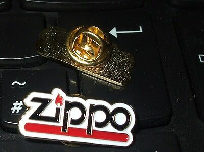 NEW Enamel Lapel / Cap Pin Badge ZIPPO (name)