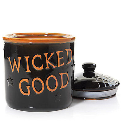 YANKEE CANDLE Halloween Boney Bunch WICKED GOOD Cookie, Candy, Candle Jar