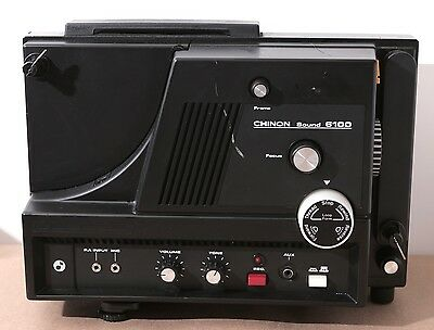 Chinon SOUND 6100 Super 8 Movie Projector - See Details