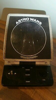 Astro Wars Grandstand 1981, Not working, vintage electronic game, made in Japan