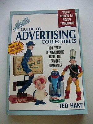100 Famous Companies / Hake's Guide to Advertising Collectibles by Ted Hake
