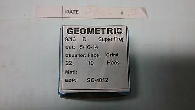 Geometric 5/16-24 Acme Thread Chasers For 9/16 D, Ds, Dsa Diehead