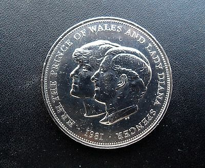 Prince Charles And Lady Diana - 1981 Royal Wedding Coin - Silver Crown