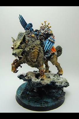 Warhammer 40k Canis Wolfborn Space Wolf PRO PAINTED!!