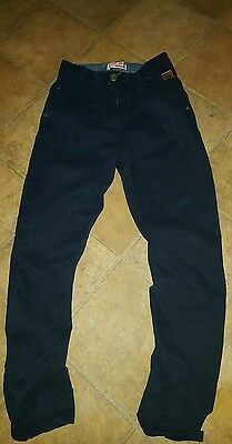 Next Boys Navy Casual Trousers age 11