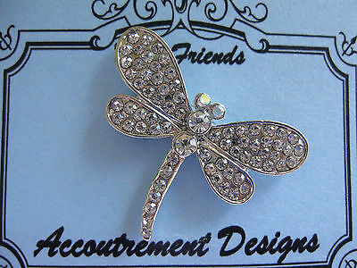 Accoutrement Designs Clear Dragonfly Needle Minder Magnet Mag Friends