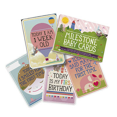 The Original Baby Cards by Milestone - Set of 30 cards