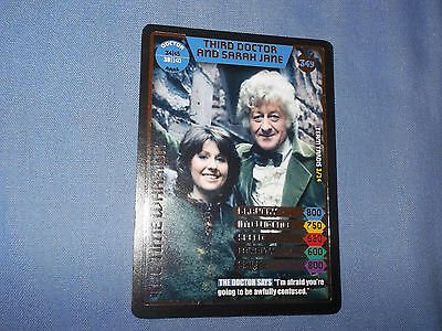 DOCTOR WHO MONSTER INVASION TRADING CARD (Rare Doctor's Ally 377)