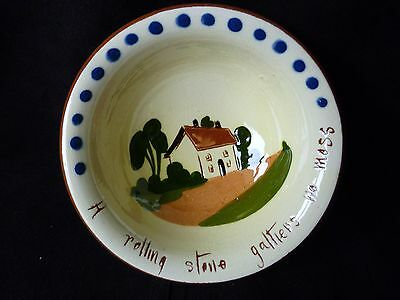 Vintage Small Bowl  Watcombe Torquay Pottery