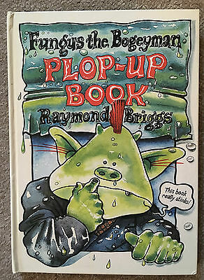 Fungus the Bogeyman PLOP UP BOOK - Raymond Briggs