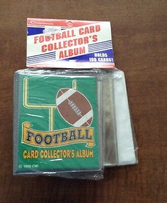 Chadwick Football Card Collector's Album New 1992