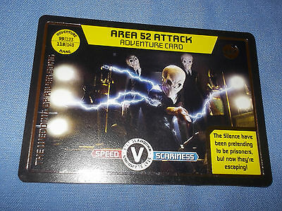 DOCTOR WHO MONSTER INVASION TRADING CARD (Rare Adventure 447)