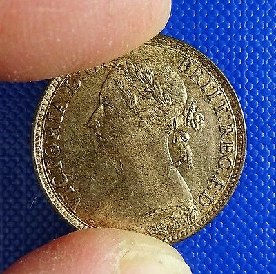 Victoria, Farthing, 1893 - Very Good Grade with Much Original Lustre