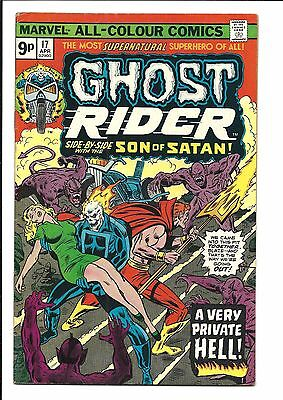 GHOST RIDER (Vol.1) # 17 (APR 1976), FN+