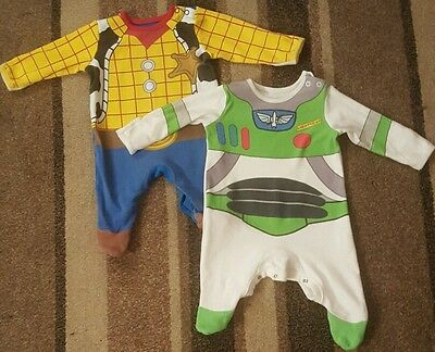 toy story baby grows size 0-3m