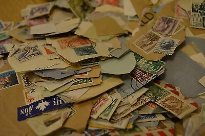 Mixed lot of World Stamps Franked Unfranked Commemorative Collection. 500g+