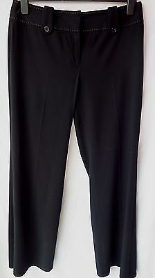 Lovely Smart Black Trousers by NEXT. Size 16 Long.