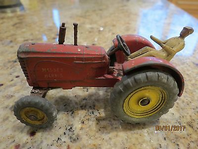 Dinky Toys Massey Harris Tractor.