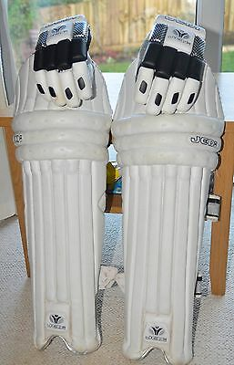 Jedi Cricket Batting Pads And 2 Pairs Of Gloves Youths Right Handed