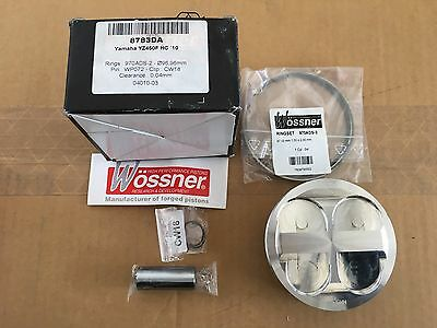 NEW Wossner Piston kit 2010-2013 YAMAHA YZ450F STD. HC 8783DA