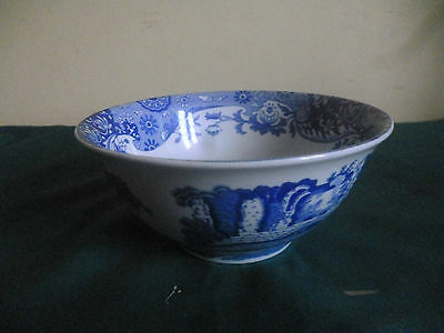 Spode Blue Italian SLOPE BOWL  blue and white