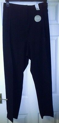 Trousers, Black, Size 26, Evans, Pear Fit, Tapered Leg, BNWT