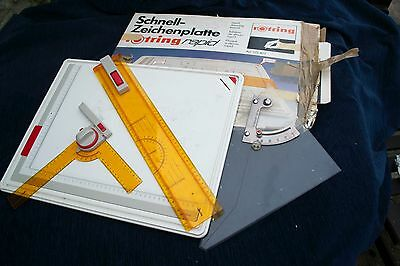 Vintage Rotring A3 Rapid Drawing Board and True Angle 522 403
