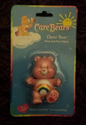 Care bear vintage toy action figure 'Cheer bear'