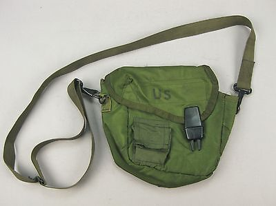 1969 US Army USMC Nylon 2 Quart Collapsible Canteen Cover Carrier M-1967 LINCLOE