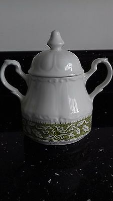 J & G Meakin Sterling Colonial English Ironstone China Sugar Bowl with Lid